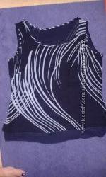Блуза темно-синего цвета, р. М