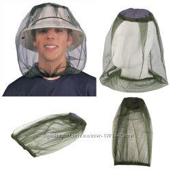 Москитная сетка накидка от комаров на голову