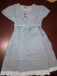 Очень красивое платьеце    Kids на 4-5 лет, состояние отличное