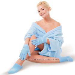 Косметические гелевые перчатки и носочки Гидробаланс