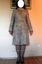 Пальто осеннее кашемировое р48