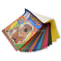 Набор цветной бумаги А4 20 листов