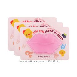 Гидрогелевая маска-патч для губ TonyMoly Kiss Kiss Lovely lip patch
