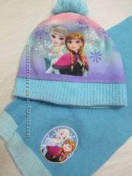 Шапка, шарф Принцессы Анна и Эльза, Холодное сердце на ОГ 50 см