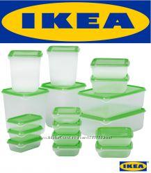 IKEA. PRUTA - набор контейнеров, 17 шт.