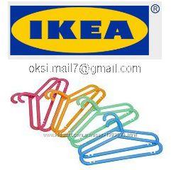 IKEA. Плечики детские. Серия БАГИС.