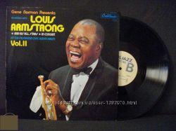 Пластинка Луи Амстронг Калифорния, США