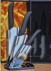 Lessner Ceramiс Line Набор керамических ножей  4пр Matt 77112