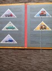 Продам марки.  1971 год . СССР. Советское автомобилестроение. Новые.