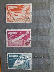 Продам марки СССР. 1969. Технические виды спорта.