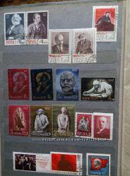 Продам марки СССР.  1966, 1967. 1968, 1970. Ленинская тематика.