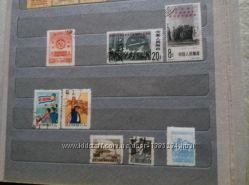 Продам марки КНР. 1950 г. , 1962 г.