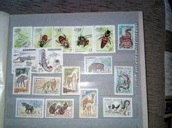 Продам марки Животный мир Африки  1962, 1963.