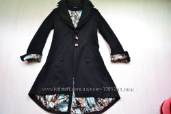 Стильне кашемірове пальто