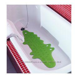 В наличии Резиновый коврик для ванны Крокодил от икеа PATRULL ikea