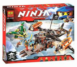 Конструктор Bela Ninja 10462, Цитадель Несчастья, 757 деталей, лего, ниндзя