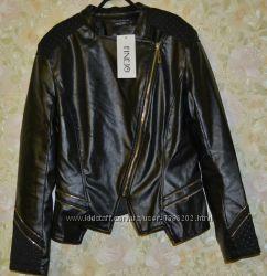 Очень классная курткаЭко-кожа Размер С. Замеры