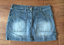 Юбка мини джинс H&M разм. М