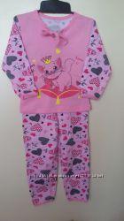 Пижамка для девочек р 86