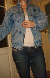Куртка ветровка пиджак джинсовый