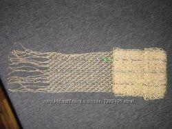 Декоративный шарфик с пайетками