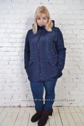 Куртка женская демисезонная больших размеров