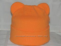 шапка-ушки расцветки на фото
