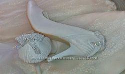 Свадебные туфли Louisa Peeress 40рр.
