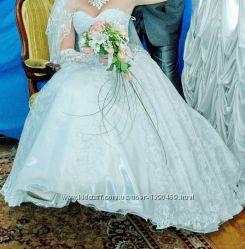 Свадебное платье 46-48рр.