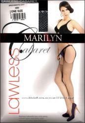 Колготки marilyn lawless имитация чулок с поясом