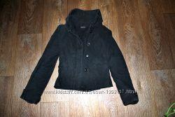 Пиджак черный модный 40 42 34 6 xs s