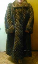 шуба норковая 58р