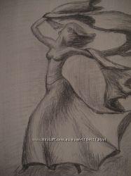 Картина Танцовщица