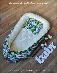 Кокон гнездышко позиционер для новорожденного плюс подарок