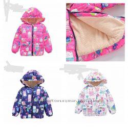 Детская осенняя куртка принт некст