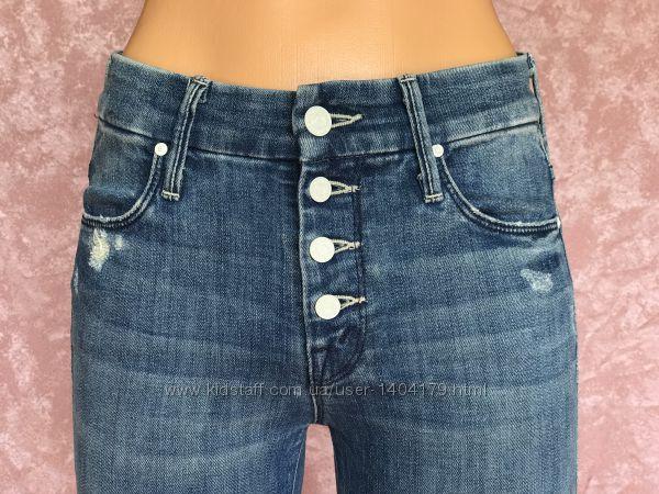 Люксовые на пуговицах тянущиеся джинсы MOTHER оригинал США