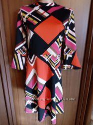 TU яркое платье 44 размер плаття 44 р сукня 44 р.