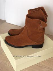 Новые кожаные ботинки на байке 38-39 размер