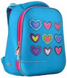 Рюкзак каркасный H-12-1 Hearts turquoise