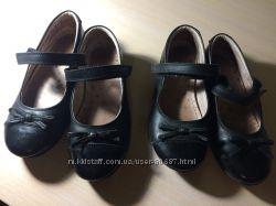 Туфли чёрные Next двойне стелька 20 см. размер 31 англ. 12, 5