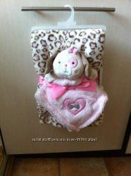 Шикарное одеяло с игрушкой Baby gear