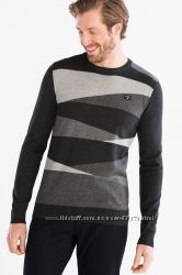 Хлопковый свитер C&A, Германия