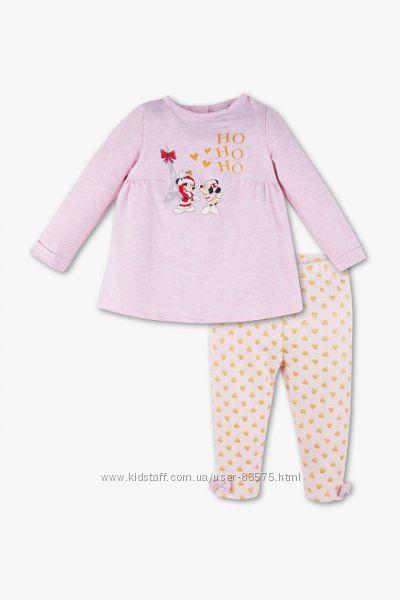 Костюмчик пижамка Baby Club Minnie Maus