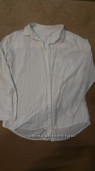Белая рубашка на девочку ZARA