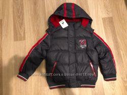 Зимняя теплая куртка С&А германия. р 128. 98, новая.