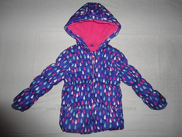 Куртка зимняя Mothercare, на рост 98-104см.3-4года