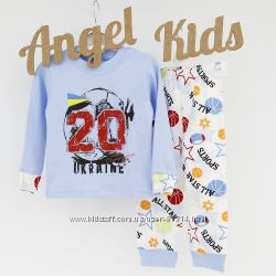 Пижамки для мальчиков Лемуа на рост 92 см